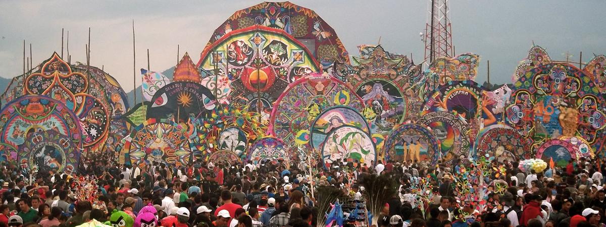 Guatemala Sumpango Kite Festival