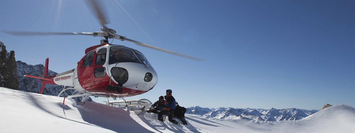 Heli Snowboard sulle Ande