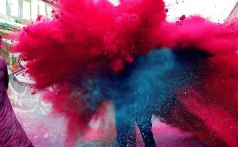 Festival dei colori, India