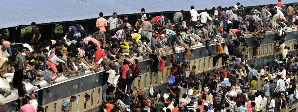 Viaggiare in Pakistan in treno