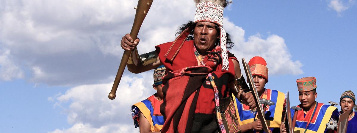Inty Raymi sul Machu Picchu