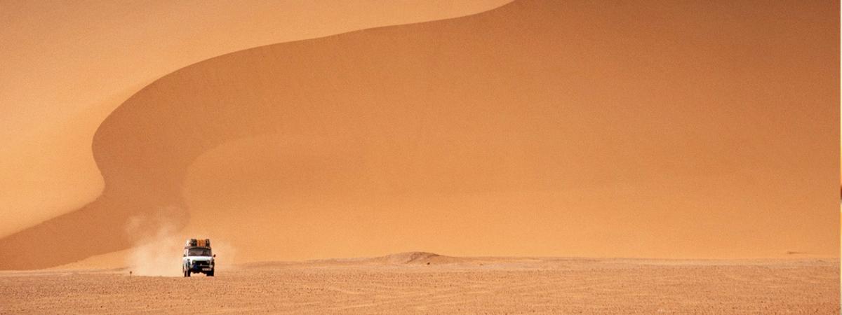 Attraversare il deserto del Sahara
